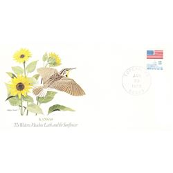 Bird and Flower of Kansas  The State Bird and Flower on  An Unprecedented Limited Edition Collection