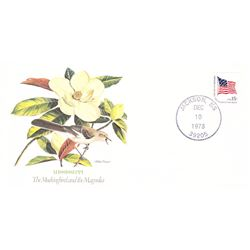 Bird and Flower of Mississippi The State Bird and Flower on  An Unprecedented Limited Edition Collec