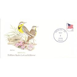 Bird and Flower of Montana The State Bird and Flower on  An Unprecedented Limited Edition Collection