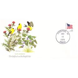 Bird and Flower of New Jersey The State Bird and Flower on  An Unprecedented Limited Edition Collect
