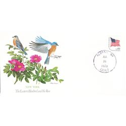 Bird and Flower of New York The State Bird and Flower on  An Unprecedented Limited Edition Collectio
