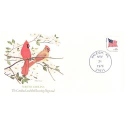 Bird and Flower of North Carolina The State Bird and Flower on  An Unprecedented Limited Edition Col