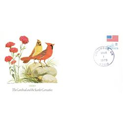 Bird and Flower of Ohio The State Bird and Flower on  An Unprecedented Limited Edition Collection of