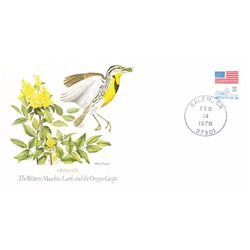 Bird and Flower of Oregon The State Bird and Flower on  An Unprecedented Limited Edition Collection