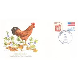 Bird and Flower of Rhode Island The State Bird and Flower on  An Unprecedented Limited Edition Colle
