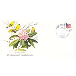 Bird and Flower of Washington  The State Bird and Flower on  An Unprecedented Limited Edition Collec