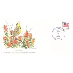 Bird and Flower of Wyoming  The State Bird and Flower on  An Unprecedented Limited Edition Collectio