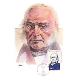 John Quincy Adams The Presidents of the United States The First Day of Issue Maximum Cards by Fleetw