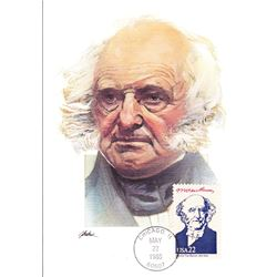 Martin Van Buren  The Presidents of the United States The First Day of Issue Maximum Cards by Fleetw