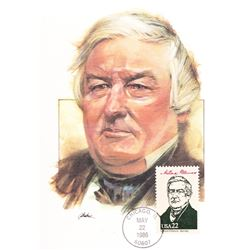 Millard Fillmore The Presidents of the United States The First Day of Issue Maximum Cards by Fleetwo