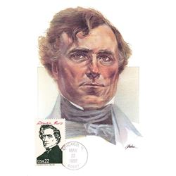 Franklin Pierce The Presidents of the United States The First Day of Issue Maximum Cards by Fleetwoo