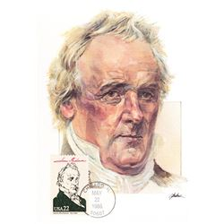 James Buchanan The Presidents of the United States The First Day of Issue Maximum Cards by Fleetwood