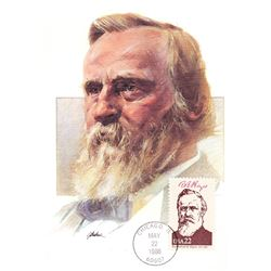 Rutherford B. Hayes The Presidents of the United States The First Day of Issue Maximum Cards by Flee