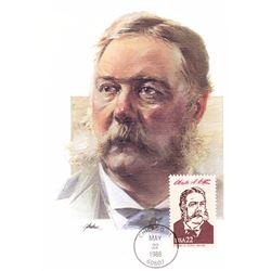 Chester A. Arthur The Presidents of the United States The First Day of Issue Maximum Cards by Fleetw