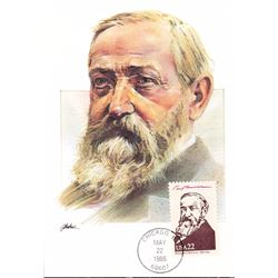 Benjamin Harrison The Presidents of the United States The First Day of Issue Maximum Cards by Fleetw