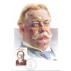 William H. Taft The Presidents of the United States The First Day of Issue Maximum Cards by Fleetwoo