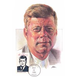 John F. Kennedy The Presidents of the United States The First Day of Issue Maximum Cards by Fleetwoo
