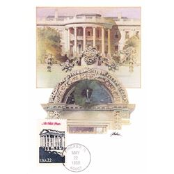 The White House The Presidents of the United States The First Day of Issue Maximum Cards by Fleetwoo