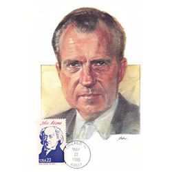 Richard M. Nixon The Presidents of the United States The First Day of Issue Maximum Cards by Fleetwo