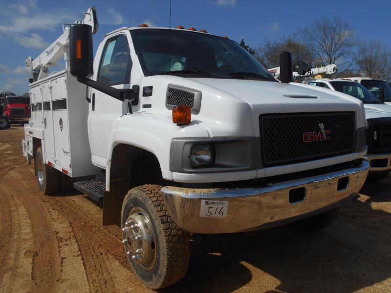 2008 GMC C5500 SERVICE TRUCK, VIN/SN:1GDE5C3958F400403 - S/A, 4X4, DIESEL  ENG, A/T, MAINTAINER TOOL