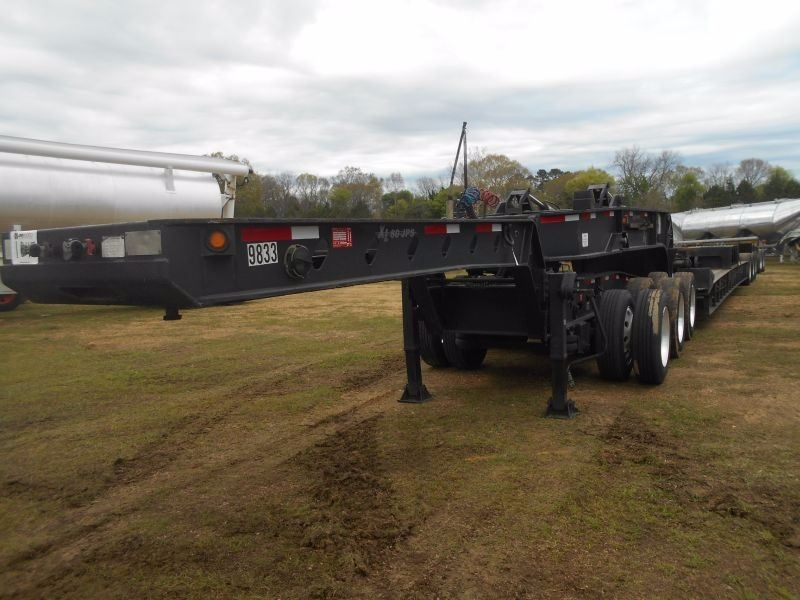 2009 XL SPECIALIZED XL 130 HDG DETACHABLE LOWBOY, VIN/SN:4U3J060349L009965  - 8 AXLES: 3+3+2 DESIGN (