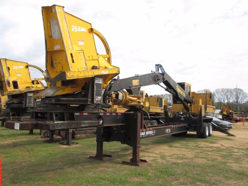 2014 TIGERCAT 234 LOG LOADER, VIN/SN:2341671 - CSI 264 DELIMBER, TIGERCAT  GRAPPLE, ECAB W/AIR, MTD O