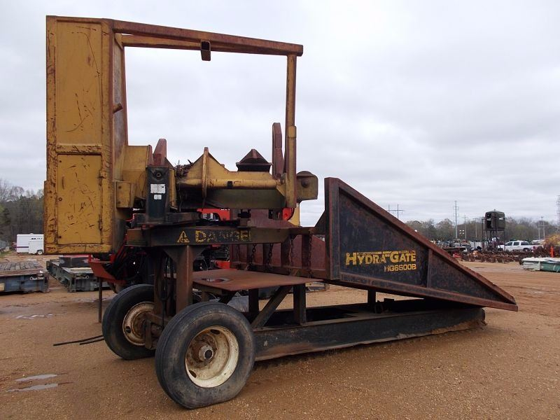 RILEY HYDRA-GATE HG6600B DELIMBER, - MTD ON S/A TRAILER, PINTLE HITCH