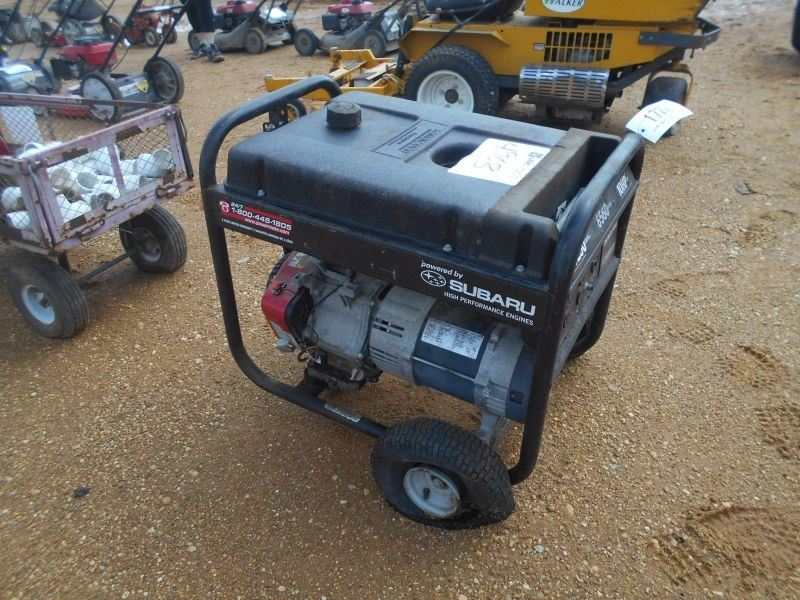 Black Max Generator 6560 Watts Gas Engine