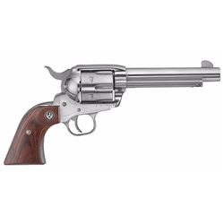 "Ruger 5104 KNV455 Vaquero 45 Colt 5.5"" 6rd Rosewood High Gloss SS"