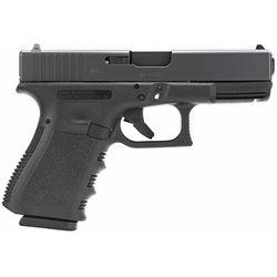 """Glock PI2350203 G23 40 S& W 4.02"""" 13+1 FS Poly Grip/Frame Black"""