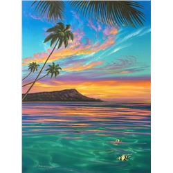 Diamond Head Sky - KAI Waikiki Ocean Art Show, Patrick Ching 2016