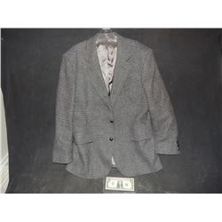 ADVENTURES OF SUPERMAN JIMMY OLSEN JACK LARSON SCREEN WORN SUIT COAT WITH PRINTED WCC LABEL 1