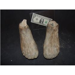 CAVE MAN MUMMY WITCH DOCTOR DEMON FEET 3