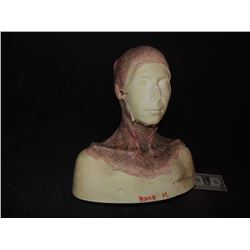 DEAD ROTTEN ZOMBIE WITCH FEMALE MAKE UP COWL ON FULL BUST 7