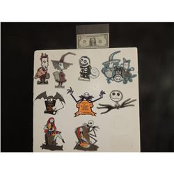 NIGHTMARE BEFORE CHRISTMAS LOT OF 100 STICKERS