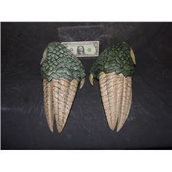 LAND OF THE LOST SCREEN USED HERO SLEESTAK HANDS WITH CLAWS