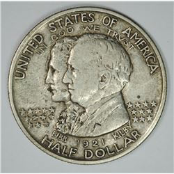 1921 ALABAMA COMMEMORATIVE HALF DOLLAR,  XF