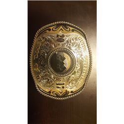 GOABC BC 2017 CONVENTION BELT BUCKLE