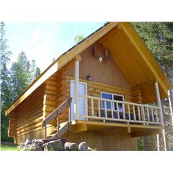 3 NIGHTS' CABIN RENTAL & 2 DAYS GUIDED FRESHWATER FISHING FOR UP TO 6 GUESTS