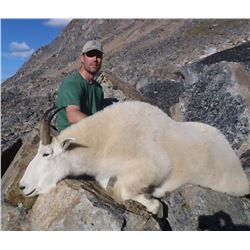 MOUNTAIN GOAT HUNT IN THE SKEENA