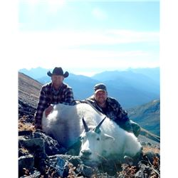 7-DAY BACKPACK MOUNTAIN GOAT HUNT