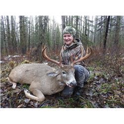 6 DAY WHITETAIL DEER HUNT IN NORTHEAST BC