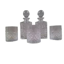 Resident Evil 6 Screen Used Crystal Decanter/Tumbler Set Movie Props