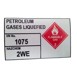 Resident Evil 6 Gas Sticker Movie Props