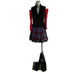Resident Evil 5 Kogal Girl (Yuka Hino) Movie Costumes