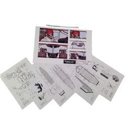 Resident Evil: Retribution Blueprints/Drawings  Movie Memorabilia