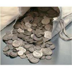 $500 Face Value Pre-64 Silver