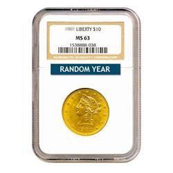 $10 Liberty MS63