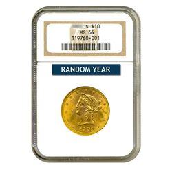 $10 Liberty MS64