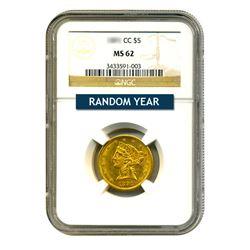$5 Liberty MS62